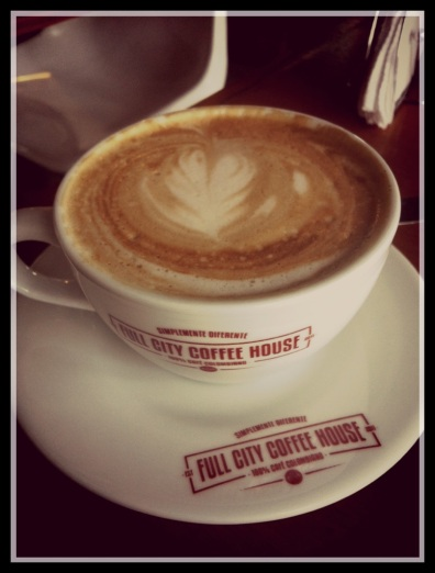 Full City Coffee House Soy Cappuccino