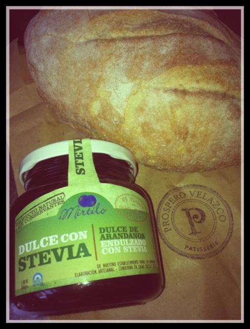 Blueberry Jam Bread