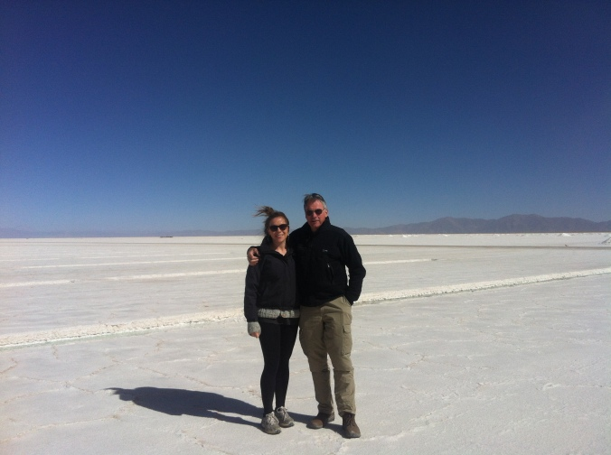 Salinas Grandes with Dad
