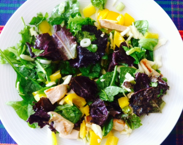 Crunchy Tahini Turkey Salad