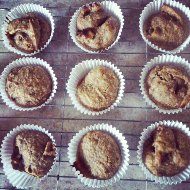 Run With Spoons Almond Muffins