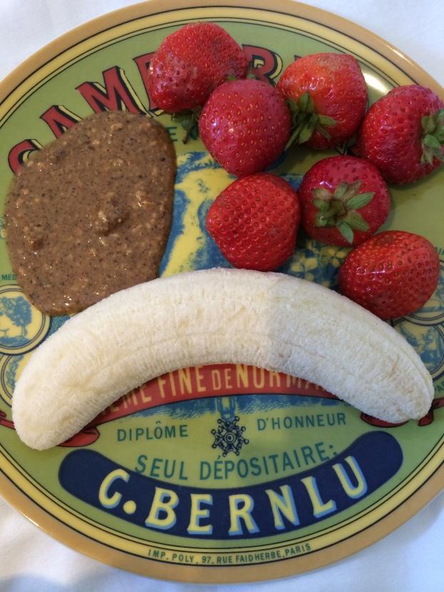 Fruit and hazelnut butter