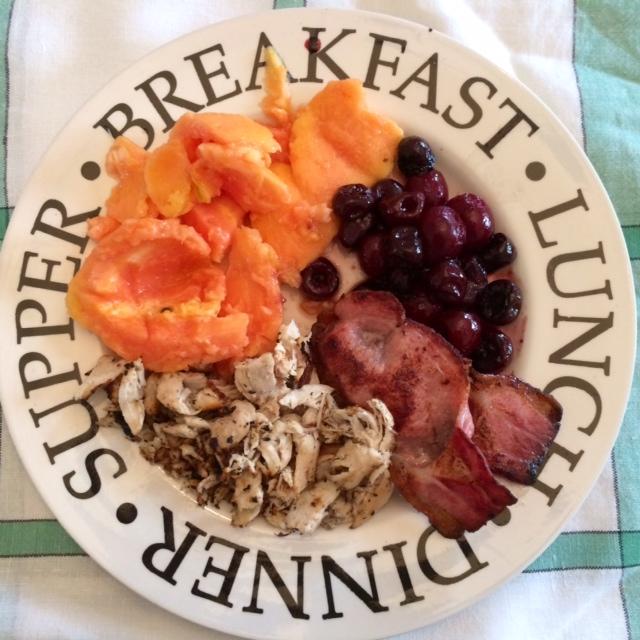 Papaya Breakfast