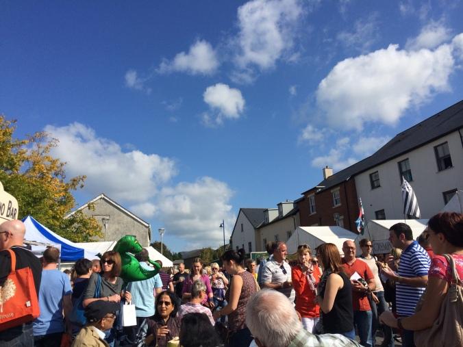 Abergavenny Food Festival Streets