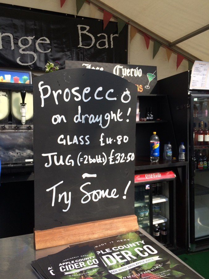 Prosecco on tap