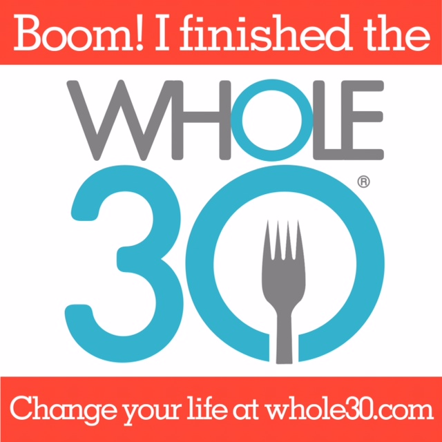 Whole 30 Completion