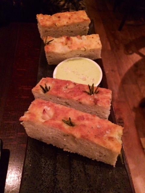 pure taste london rosemary garlic foccacia