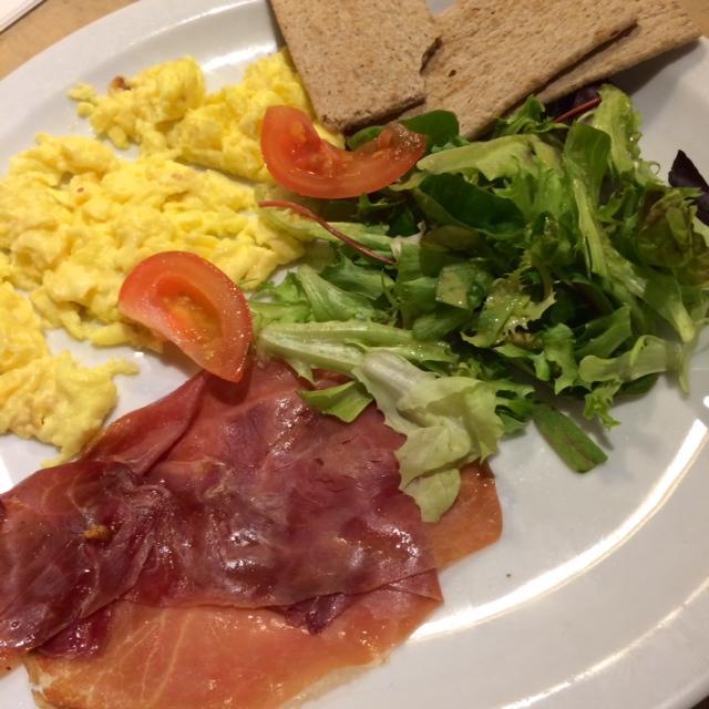 eggs proscuitto