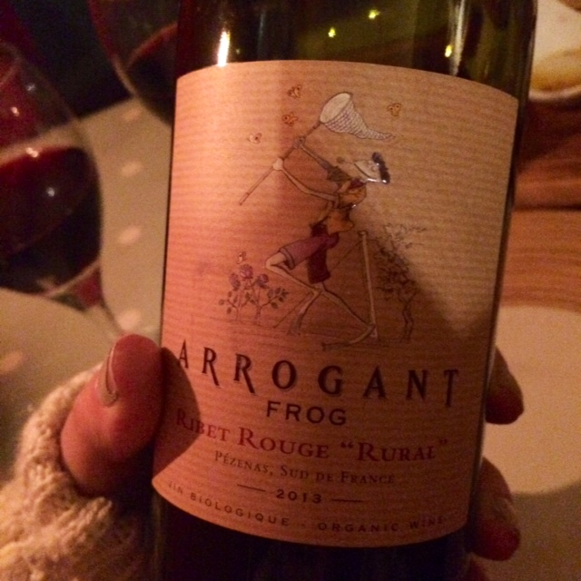 arrogant frog wine