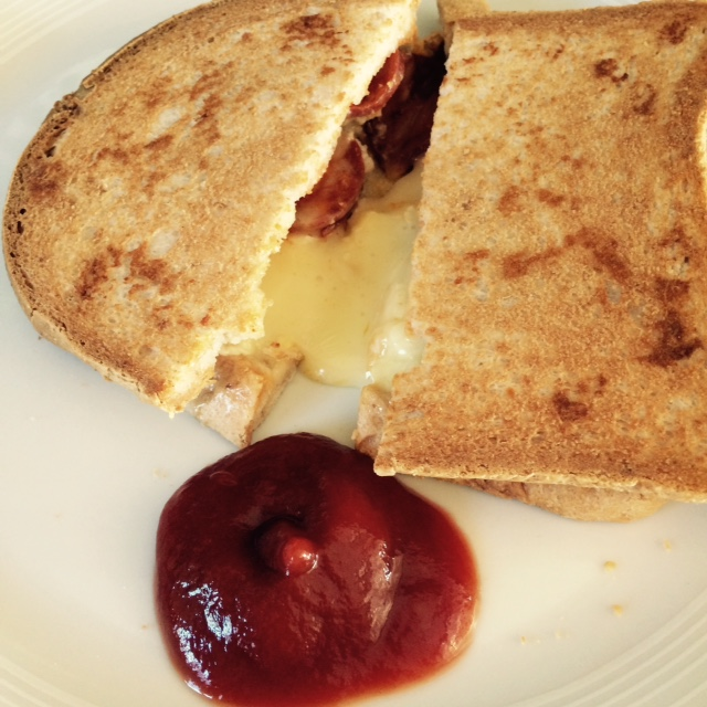 gluten free cheese toastie