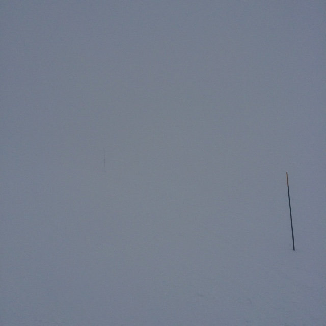 Tignes white out
